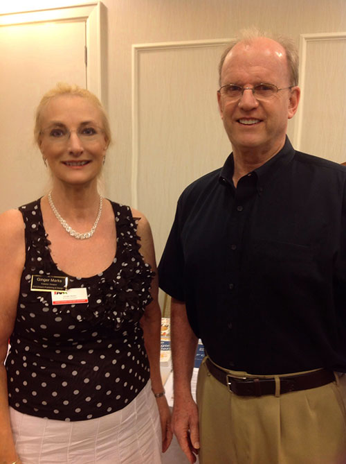 FAPA Speaker Ginger Marks with Brian Jud