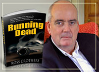 Book cover design by DocUmeant Designs for Running Dead by Ross Crothers