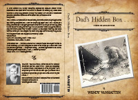 Book cover design by DocUmeant Designs of Dad's Hidden Box by Wendy VanHatten